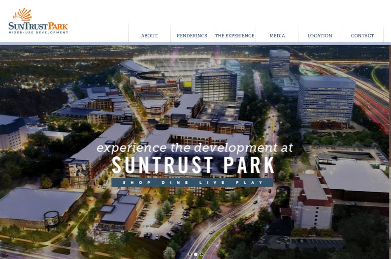 Fuqua Development, SunTrust Park, CRE Marketing, Web design, Atlanta Commercial Real Estate Advertising Agency